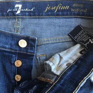 7 for all mankind josefina skinny boyfriend 28x27